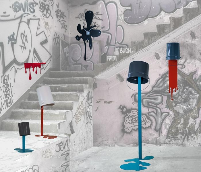 Les incroyables pots de peinture renversés Oups ! de Nathalie Be